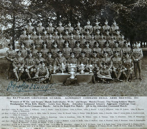 3rd battalion aldershot small arms meeting 1933