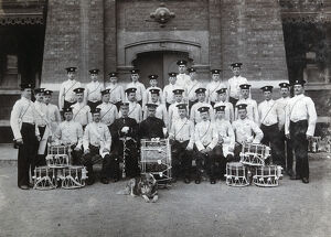 3rd battalion chelsea barracks drum maj r wombwell