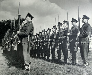3rd battalion after dunkirk inspected by prime minister