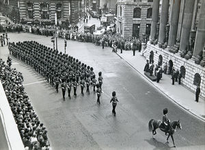 3rd battalion farewell to city of london mansion house