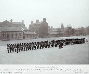 3rd battalion guard of honour british empire exhibition