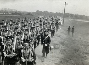 3rd battalion marching brookwood to pirbright