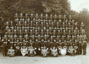 3rd battalion no. 3 coy 1924 hogarth britten