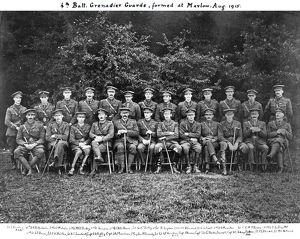 4th battalion grenadier guards formed aug 1915