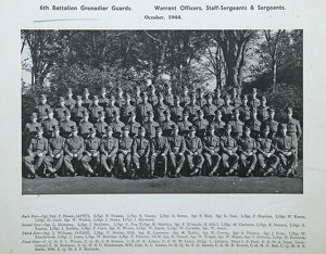 6th battalion warrant officers staff-sergeants