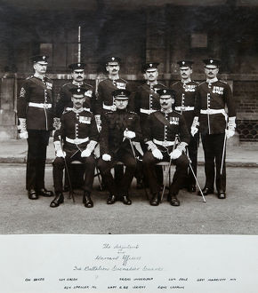 adjutant warrant officers 3rd battalion chelsea barracks