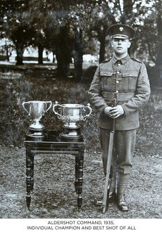 aldershot command 1935 individual champion and best shot of all