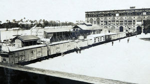 armoured train barracks
