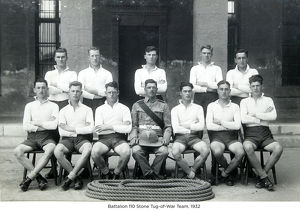 battalion 110 stone tug-of-war team 1932