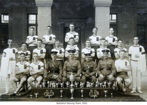 battalion boxing team 1932