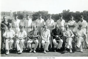 battalion cricket team 1932
