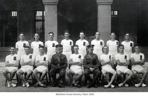 battalion cross-country team 1932