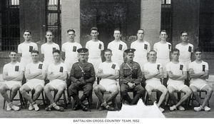 battalion cross country team 1932