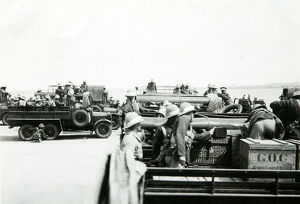 battalion manoeuvres 1935 rasc transport