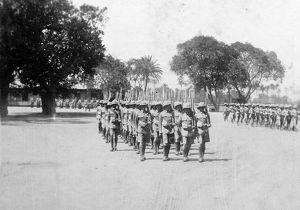 battalion parade 1932