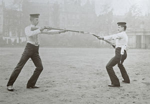 bayonet demonstration