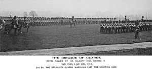 brigade of guards royal review hm king george v