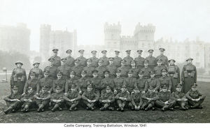 castle company training battalion windsor 1941