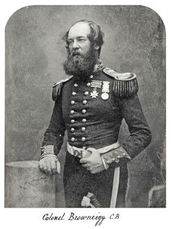 colonel brownrigg cb 1855