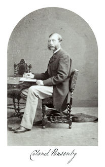 colonel ponsonby 1867