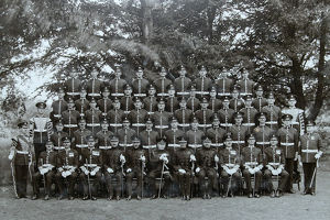 colonel warrant officers and sergeants aldershot
