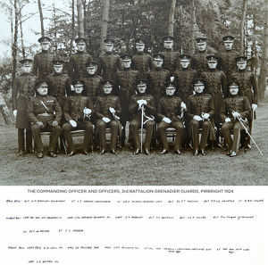 commanding officer officers 3rd battalion pirbright