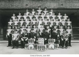 corps of drums june 1937