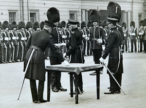 duke of connaught? awarding medals