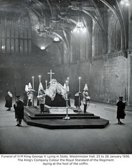 funeral of h m king george v lying in state westminster hall