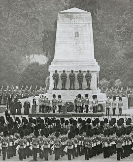 unveiling of the guards memorial 16 october 1926