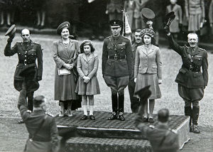 hm king george vi hm queen elizabeth hrh princess elizabeth