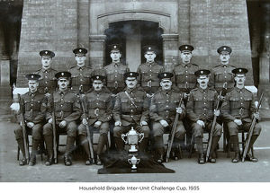household brigade inter-unit challenge cup 1935