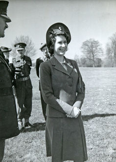 hrh princess elizabeth colonel