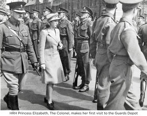 hrh princess elizabeth the colonel guards depot