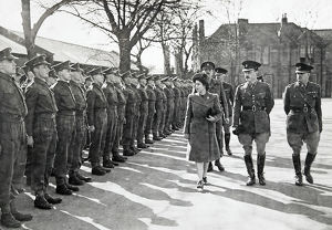 hrh princess elizabeth colonel inspection guards depot