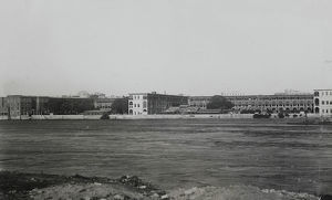 kasr-el-nil barracks from gezira island