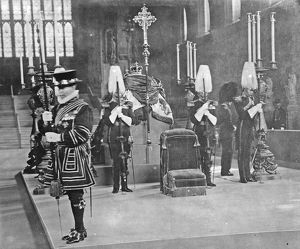 king edward vii westminster hall lying in state