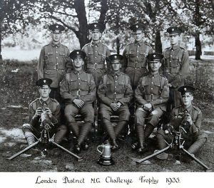 london district machine gun challenge trophy