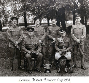 london district revolver cup 1935
