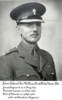 lt col sir william r de b des voeux