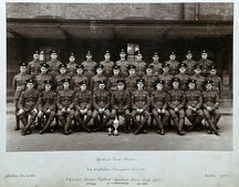 1920s/machine gun platoon 3rd battalion chelsea barracks