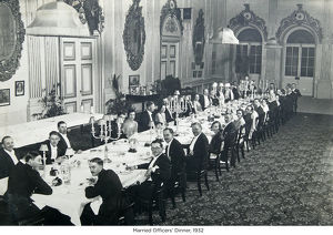 married officers dinner 1932