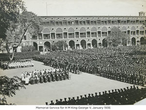memorial service for h m king george v january 1936