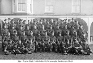 no. 1 troop no.8 (middle east) commando september 1940
