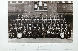 no. 3 coy chelsea barracks october 1923 baker