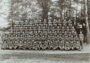 no. 4 coy 3rd battalion pirbright september 1923