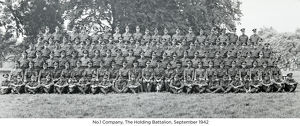 no.1 company the holding battalion september 1942