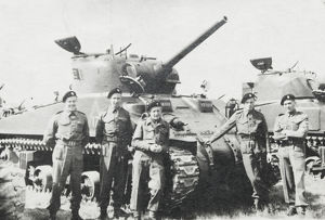 no.1 squardon capt p carrington mc tank and crew