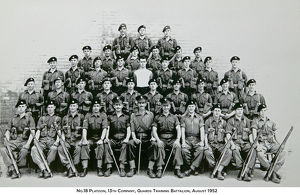no.18 platoon 13th company guards training battalion