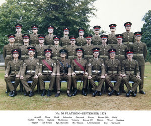 no.20 platoon september 1973 arnold chase good